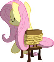 Fluttershy Tied Up by Sairoch