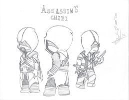 Assassin's Chibi by Leapoffaith4