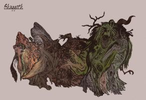 Shuggoth by systemcat