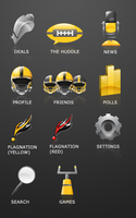 YellowFlag Icon Set by ZhioN360
