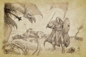 Eowyn Confronts the Witch-king