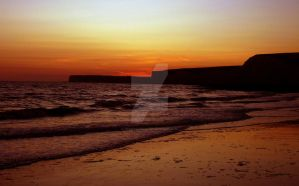 Beachy Head Sunset by HarryThePotter