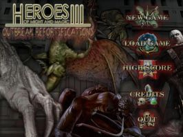 Heroes of Might and Magic 3 - OR mod Main Menu by BenioxoXox