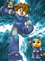 Megaman Legends v2.0 Coloured by Smoking-Squirrel