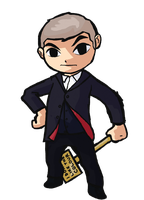 Wind Waker Twelfth Doctor by IronManWristwatch