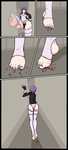 Commission: Ghost in the Shell Giantess by jj-psychotic