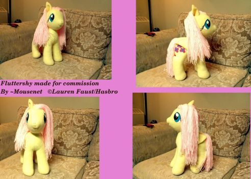 Fluttershy Commission for Rose by mousenet