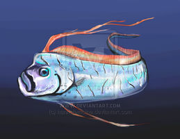 Oarfish by hannalemoine