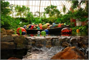 Chihuly Gardens and Glass 2 by Polishhippy