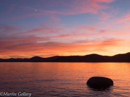 East Shore sunset140630-68 by MartinGollery