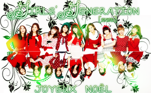 Girls' Generation (SNSD) Christmas Pack by ShimSungHyo