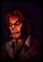 Bigby Wolf ANIMATION by Raenyras