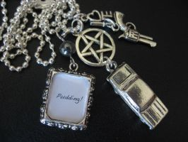 Supernatural Pudding Necklace by SpellsNSpooks