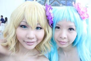 Vocaloid girls! Colorful X Melody by vi-ki