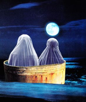 Ghosts on a Lake by ErinCase