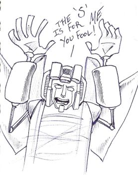 The 'S' is for Starscream by Artoveli