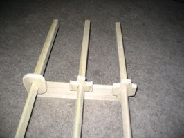 Wooden Zoro Swords Project 2.1 by ClavigerBS