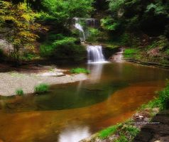 Ithaca's Buttermilk falls IX by pjs15204