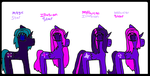 Princess Twilight Sparkle And Zexion's Kids2 by RainbowPonyFairy