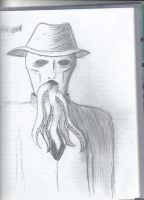 Some Creepyass drawing by kundozii