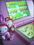 Hello kitty love by XLinda