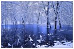 Solitude In Blue by aquapell