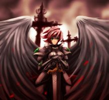 Arelia the Angel +martyr+ by nancher