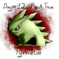 Day12.Fave Rock Type.Tyranitar by CCL-Project
