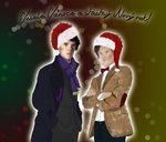 Merry WhoLock Chrismas and Happy new year! by MizukiManson483