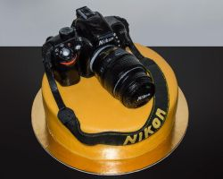 Sacher Nikon CAKE by Mandy0x
