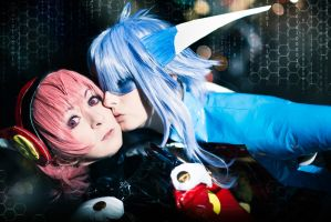Angelic Layer - Puppets kiss by Firiless
