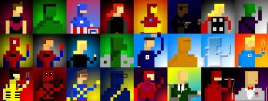 The Eight Bit Marvel Universe by MrSteiners