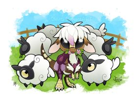 Chibi Sheepydino - Day by Shivita