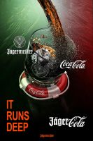 JagerCola ItRunsDeep ad by DeviArTZ