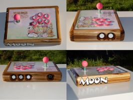 Harvest Moon Arcade Stick by stacylambert