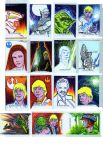 Starwars sketchcards perspectives H3 by TomKellyART