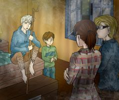 Jack explain all to Jamie's parents by Lunna-World