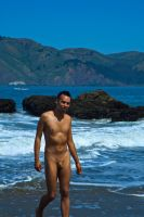 naked with a back drop by illicitDreamer