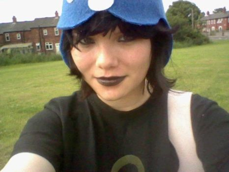 Humanstuck Nepeta - out and about by RamenEatingPanda1997