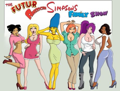 The Futur-American-Simpsons-Family-Show Girls by Dynamoob