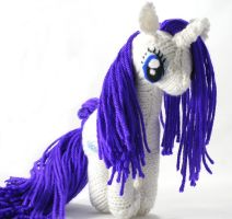 Thrid Rarity - Knitted Plush by SparkAbsurd