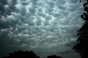 Mammatus Cloud Formation by netta43