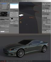 Car render setup with yafaray by koleos33