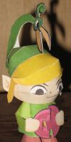 Minish Cap Link by paperart