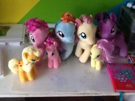 My Little Plushie Collection. by MargaretLovez