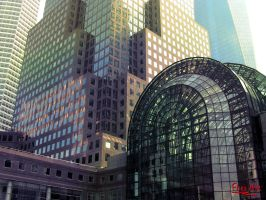 World Financial Center by FlitsArt