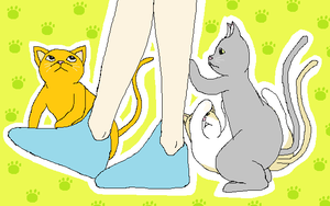 Cats At Your Feet by churien