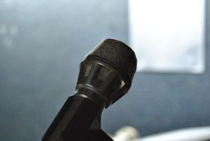 Microphone by SilenceInside-Stock