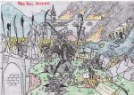 The fall of Nargothrond - Children of Hurin by 1ringtofindthem