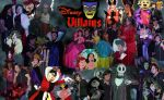 DISNEY VILLAINS by jay3jay